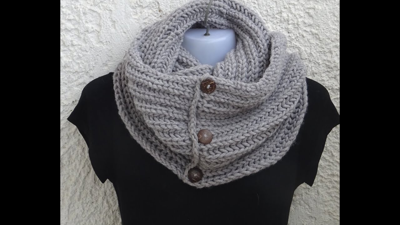 Easy Infinity Scarf Crochet Pattern Infinity Scarf Very ...