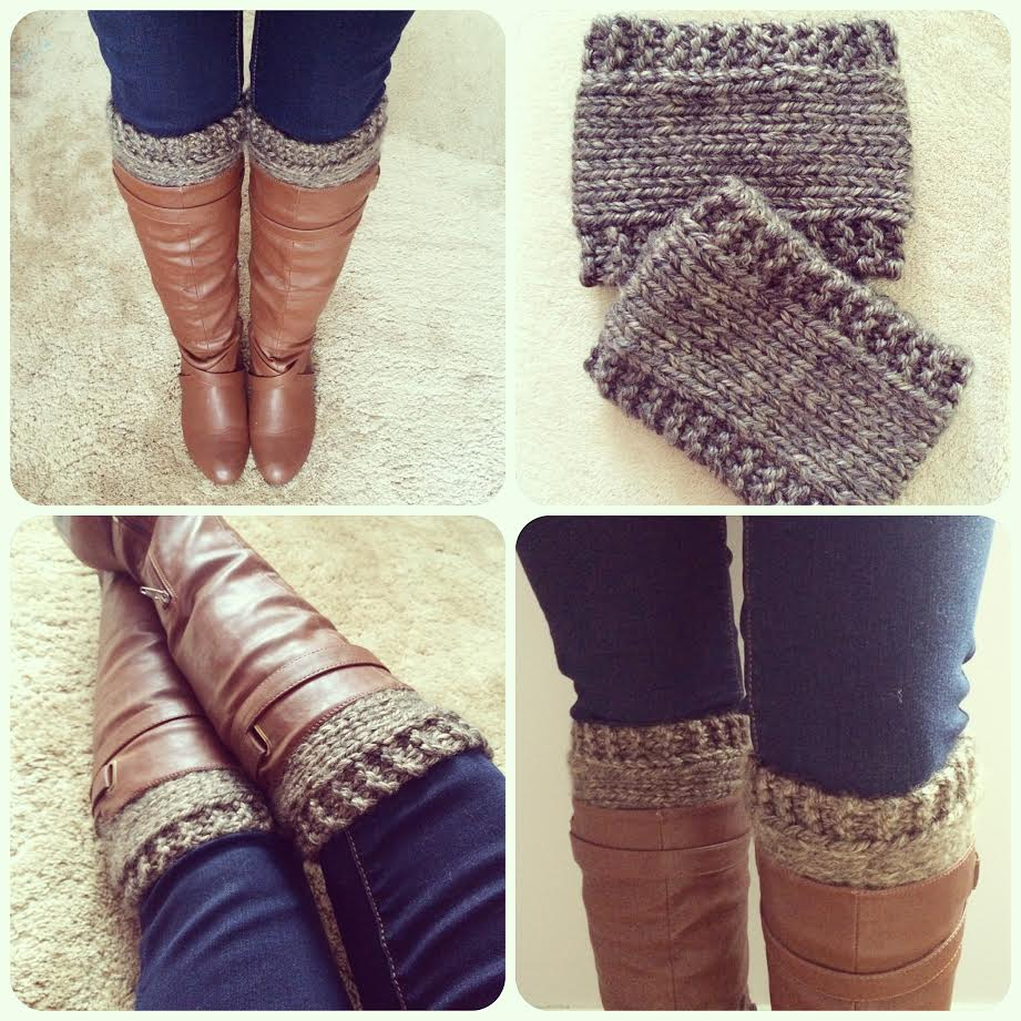 Free Crochet Boot Cuff Pattern Free Pattern Knitted Boot ...